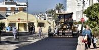 Ekipler asfalt çalışmalarında hız kesmiyor