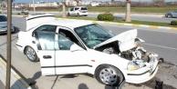 Feci kazada 2 kişi yaralandı!
