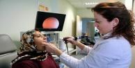 Ses telleri felç olan kadın 90 günlük mücadeleyi kazandı