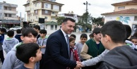 Ziraat Mühendisi Başkan Yücel'den EKO okul ziyareti