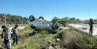 50 metre arayla 2 kaza birden! 2 yaralı
