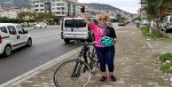 Alanya'da 50 yaşından sonra bisiklete bindi, yarışlarda birinci oldu!