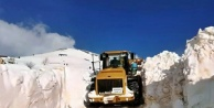 Alanya'da kardan kapanan yollar festival için açılıyor