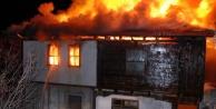 Alanya'daki ev yangını ucuz  atlatıldı!