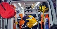 Alanya'da feci kaza! Motorlu testereyle kolunu kesti
