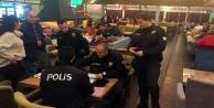 Alanya'da polis eğlence merkezlerini mercek altına aldı