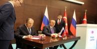 Bakan Çavuşoğlu ve Lavrov istişareler protokolünü imzaladı