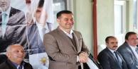 Başkan Yücel'e Alara'da sevgi seli