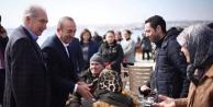 Çavuşoğlu'ndan hemşerisi başkan adayı Uysal'a destek