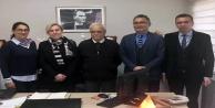 Hayate Hanım'ın öğretmenleri konseyi ziyaret etti