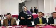 Milletvekili Sena Nur Çelik Yücel'in seçim ofisindeydi