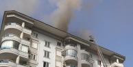 Alanya'da korkutan yangın