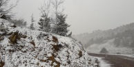 Alanya'da Nisan ayında kar şaşkınlığı