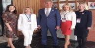 Alanya'daki Rusları Çetinkaya'dan dinlediler