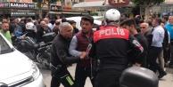 Alanya'da 'dur' ihtarına uymayan motosikletli polisleri alarma geçirdi
