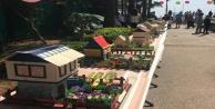 Alanyalı minikler hayallerindeki evleri tasarladılar