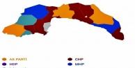 Antalya'nın hangi ilçesini hangi parti kazandı?