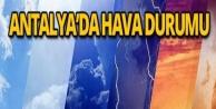 Antalya ve İlçelerinde Hava Durumu