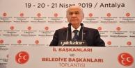 Bahçeli: Antalya'da hainler cirit atacak