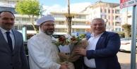 Erbaş'tan Başkan Şahin'e ziyaret