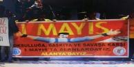 İşte Alanya'nın 1 Mayıs programı