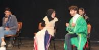 Alanya'da 7. Liseler Arası Tiyatro Şenliği başladı