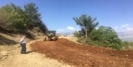 Alanya Yaylakonak yolu asfalta hazırlanıyor