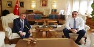 Başkan Böcek, Bakan Ersoy ile turizm alt yapısını değerlendirdi