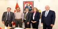 Büyükelçilerden Alanya Belediyesi'ne ziyaret