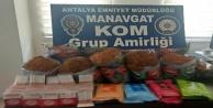 Manavgat'ta çeşitli suçlara karışan 4 kişi yakalandı
