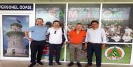 UEFA ve TFF yetkilileri Bahçeşehir Okulları Stadyumu denetledi