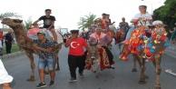 Alanya'da Festival Yörük göçü ve kortejle başladı