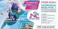 Alanya'nın yüzme okulu kayıtlara devam ediyor