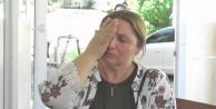 Kadın muhtarın gözyaşları