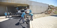 Alanya Belediyesi'nden Oba'ya sıcak asfalt