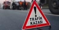 Alanya'da motosikletle otobüs çarpıştı: 1 yaralı