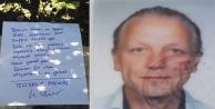 Alman turist 'Beni çöpe atın' yazılı notuyla ölü bulundu