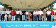 Mavi Beyaz çocuk parkı törenle açıldı