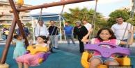 Yücel'in 130. parkı 'Mavi Beyaz' çocukların hizmetinde
