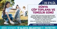 Alanya Belediyesi Şehri vatandaşlarla birlikte temizleyecek