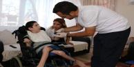 Büyükşehir Belediyesi hastalara evde bakım desteği veriyor