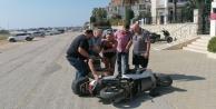 228 promil alkollü 79 yaşındaki Belçikalı turistin motosikletle düşe kalka ölüm yolculuğu