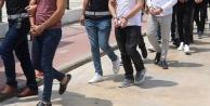 Alanya'da dev şafak operasyonu: 21 gözaltı