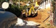 Alanya'da eskiyen yollar asfaltlanıyor