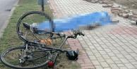 Alanya'da turist bisikletten düşüp öldü!