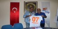 Alanyaspor Başkanı Çavuşoğlu'ndan, ALTİD'a ziyaret