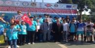 Alanyaspor'dan özel sporculara kupa ve madalya