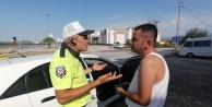 Polisin 259 promil alkollü sürücüyle sabır imtihanı