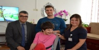 Başhekim evde bakım hastalarını yerinde ziyaret