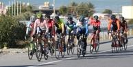 Alanya'da bisiklet yarışı başladı